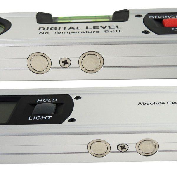 Nivela / boloboc Absolute, digital afisaj electronic 360 g si magneti