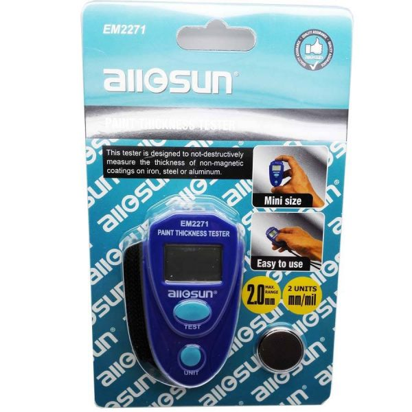 Aparat / tester / detector grosime vopsea auto digital AllSun
