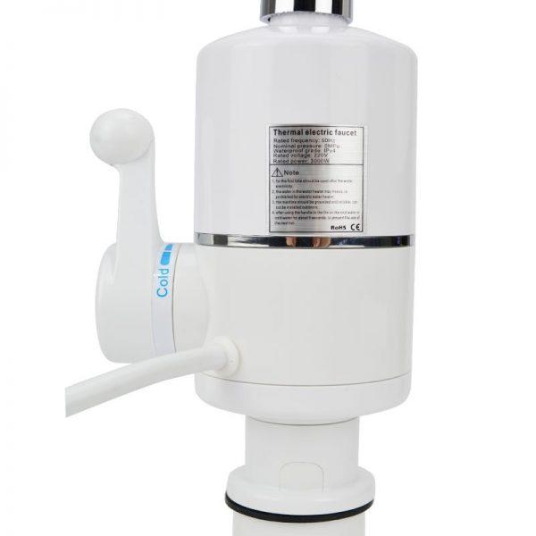 Robinet electric instant apa calda cu afisaj digital termic