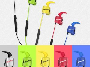 Casti Bluetooth Bluedio TE Sport, Wireless, In-Ear, HandsFree, Rezistente la ploaie si transpiratie, Microfon incorporat