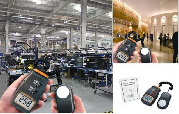 Luxmetru LX-1010BS, instrument digital pentru masurarea intensitatii luminii (0-100.000 lux), fotodetector independent (2)