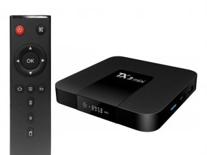 Mini PC TV Box TX3 Mini, 4K, Quad-Core, WiFi, USB, HDMI, H265, Android 7.1.2, afisaj LCD, CONFIGURAT cu aplicatii pentru TV, filme, seriale, Youtube, CONSULTANTA GRATUITA