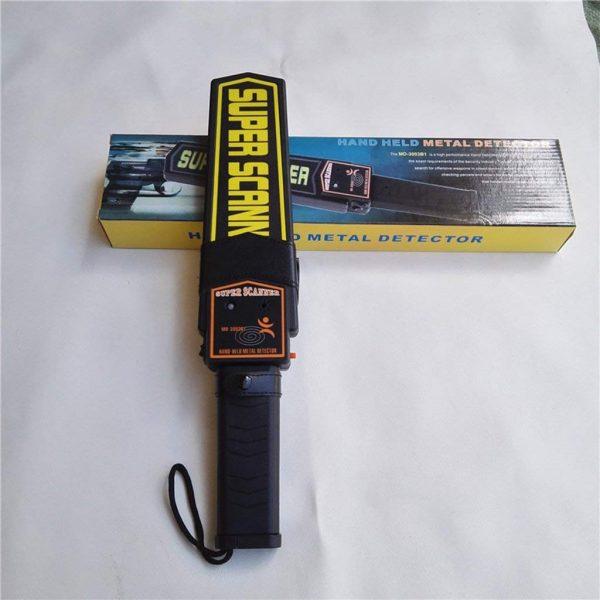Detector de metale corporal tip baston pentru securitate si paza, Pinttor, detector arme, pistol, cutit, lama de ras, ace, foarfeca